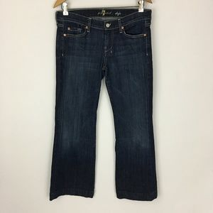 "7 For All Mankind Dojo Jeans Sz 29 / 27.5"" Inseam"